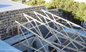 Trusses Roof Building