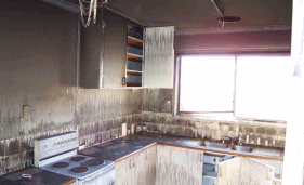 Kitchen Burnt Out