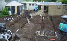 Excavations of Foundations